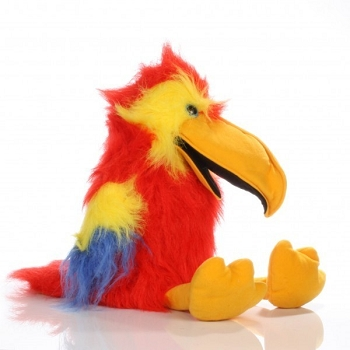 Scarlet Macaw, Baby Birds Puppet, 12''