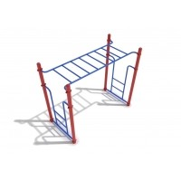 Free Standing Horizontal Ladder, 8' long