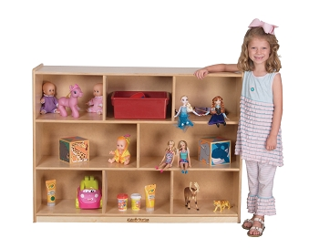 Value Line Storage Unit with Dividers, for Preschool and School Age Classrooms, 36