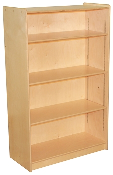 Mainstream Bookcase with 3 Adjustable Shelves, 36