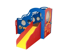 Cozy Climber, Infant & Toddler Playground, for Outdoors or Indoors, available in Bright or Natural