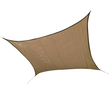 Square Shade Sail, 12 ft, Choice of Color