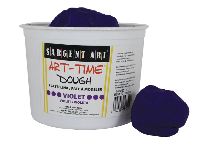 Art Time Dough, 3 lb - Violet