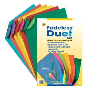 Pacon Fadeless Acid-Free Duet Paper, 12