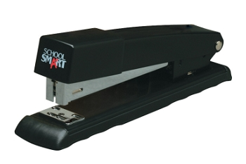 School Smart Full Strip Stapler, Standard Staples - 10 Sheets