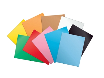 School Smart Medium-Weight Tagboard, 10 Point Thickness - Assorted Color - Pack of 100