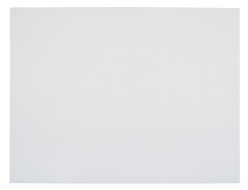 School Smart Poster Board, 8-Ply Thickness, White - Pack of 25