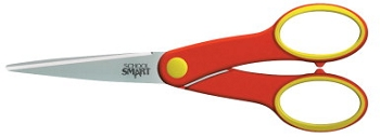 School Smart Blunt Tip Student Scissor for Middle Grades - Pack of 12