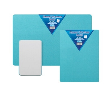 Flipside Flannel and Dry Erase Board, Blue