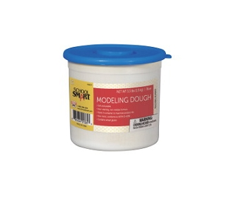 School Smart Non-Toxic Modeling Dough, 3.3 lb Tub