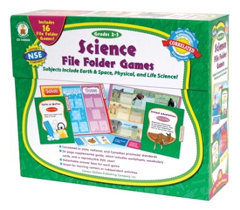 Science File Folder Games