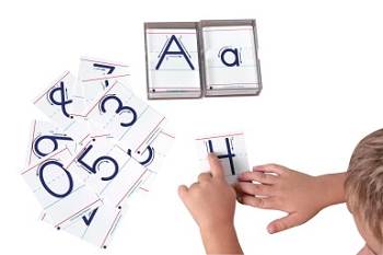 Advantage Tactile Cards - Uppercase Letters