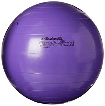 Abilitations StayN'Place Ball, 37 Inches, Color May Vary
