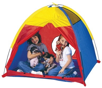 Pacific Play Tents Washable Me Too Play Tent, Nylon - Fiberglass Assorted Color