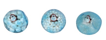 Abilitations Arctic Squeeze Fidget Balls - Set of 3