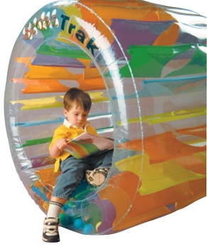 Abilitations Integrations SensaTrak Inflatable Round Ball Chamber, Vinyl