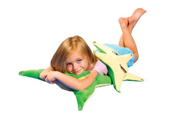Abilitations Smiling StarFish Pillow Set, Polyester - Set of 2