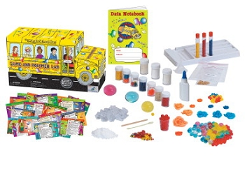 Young Scientists Club Magic School Bus Polymers and Slime Kit