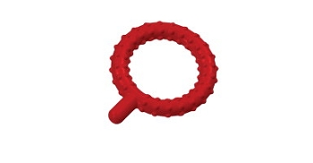 Knobby Q's - Oral Motor Tool - Red