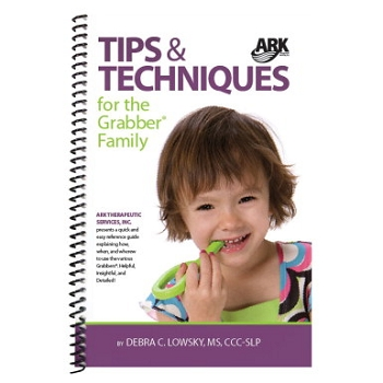 ARK Therapeutic's Spiral Binding Tips and Techniques Book for the Grabber Family - 28 Pages