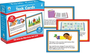 Carson-Dellosa CenterSOLUTIONS for the Common Core Task Cards, Grade 4
