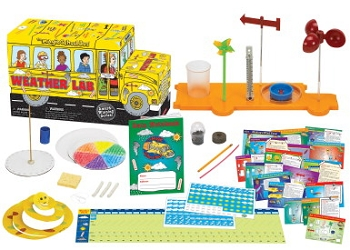 Young Scientists Club the Magic School Bus Weather Lab Science Kit