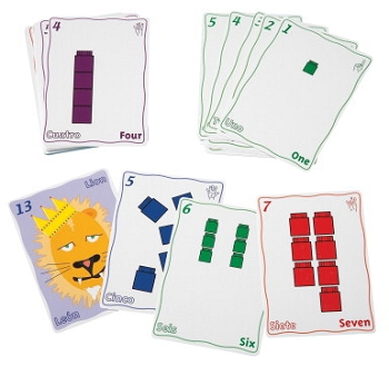 Didax Newmark Learning Unifix Playing Card Set