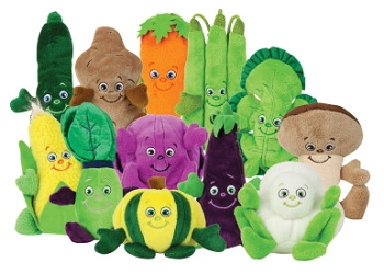 Learning ZoneXpress Veggie Garden Heroes Set - Set of 12