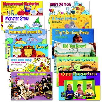 Learn to Read Guided Reading Leveled Readers Variety Pack Book Set - Grade Level F - G Set - Set of 12