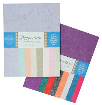 Shizen Design Silk Paper - Assorted Color - Pack of 48