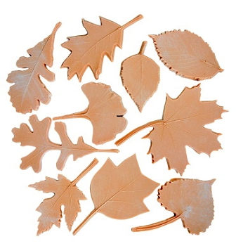 Sax Leaf Nature Impression Set - Assorted Size - Set of 10
