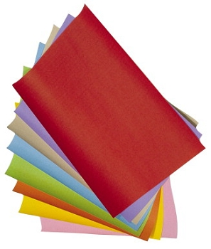 Scratch-Art Subi Acid-Free Block Printing Paper, 60 lb - Assorted Color - Pack of 40