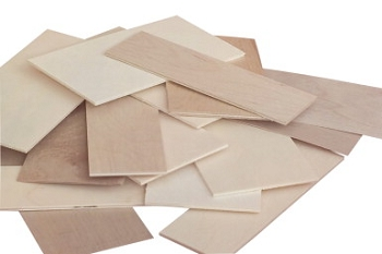 Sax Midwest Products Project Wood Thin Plywood with Economy Bag - Assorted Size
