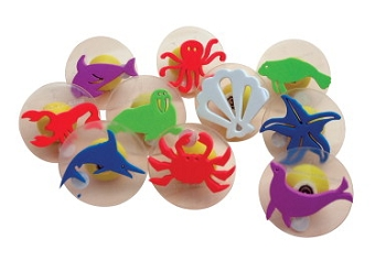 Center Enterprises Giant Sea Creatures Stamp Set with Storage Case, 3