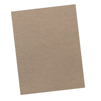 Roselle Multi-Purpose Smooth Surfaced Chipboard - Select Size, 10-Ply Thickness, Gray - Pack of 10
