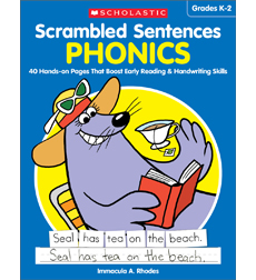 Scrambles Sentences - Phonics