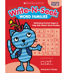 Write-N-Seek - Word Families