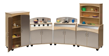 4-Piece Contemporary Complete Kitchen Set