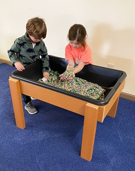 Value Line Outdoor Large Sand/Water Table w/drain, Plastic