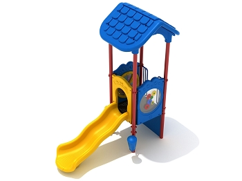 Space Saver 2000, Preschool Playground Structure, Bright Colors