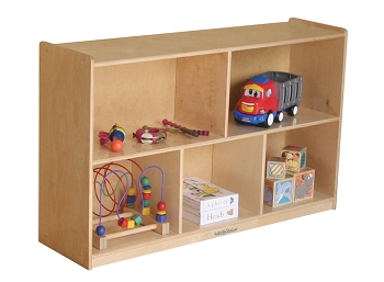 Value Line Storage Unit with Dividers, 5 Section, Older Toddler/Young Preschool Cabinet