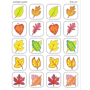 Autumn Leaves Stickers