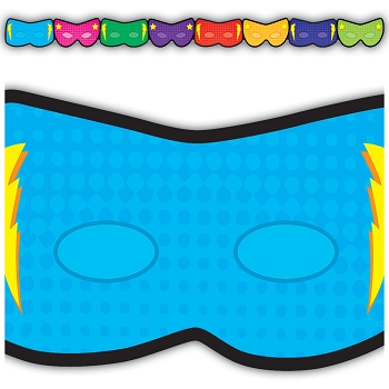 Superhero Masks Die-Cut Border Trimmer