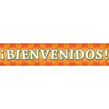 Welcome Banner - Spanish