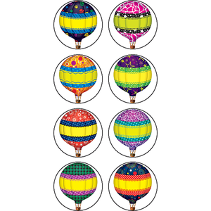 Hot Air Balloons - Mini Stickers