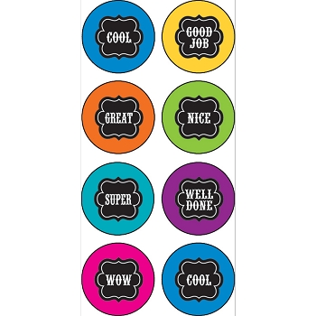 Chalkboard Brights - Mini Stickers