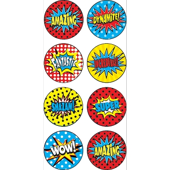 Superhero - Mini Stickers - 378 Pack