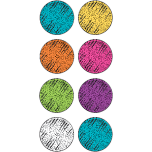 Colorful Chalk - Mini Stickers