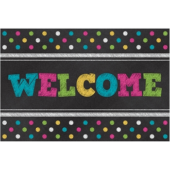 Chalkboard Brights Welcome - Postcards