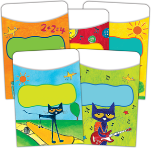 Pete the Cat - Library Pockets